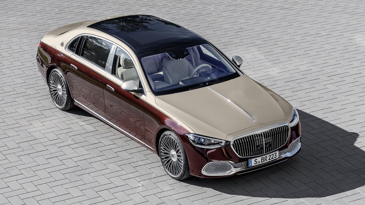 2021 Mercedes-Maybach S-class Unveiled