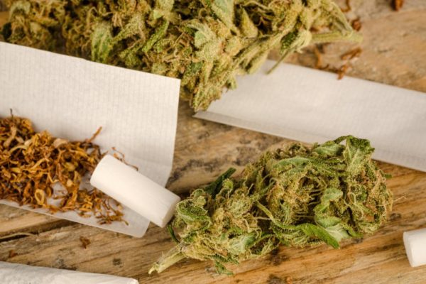 How far is it a health risk to smoke cannabis?